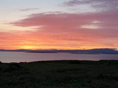 Sunset over Ireland from Cape